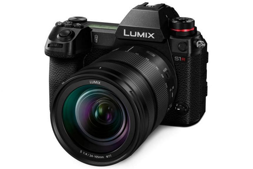 The Lumix S1R is the first full-frame mirrorless camera from Panasonic.