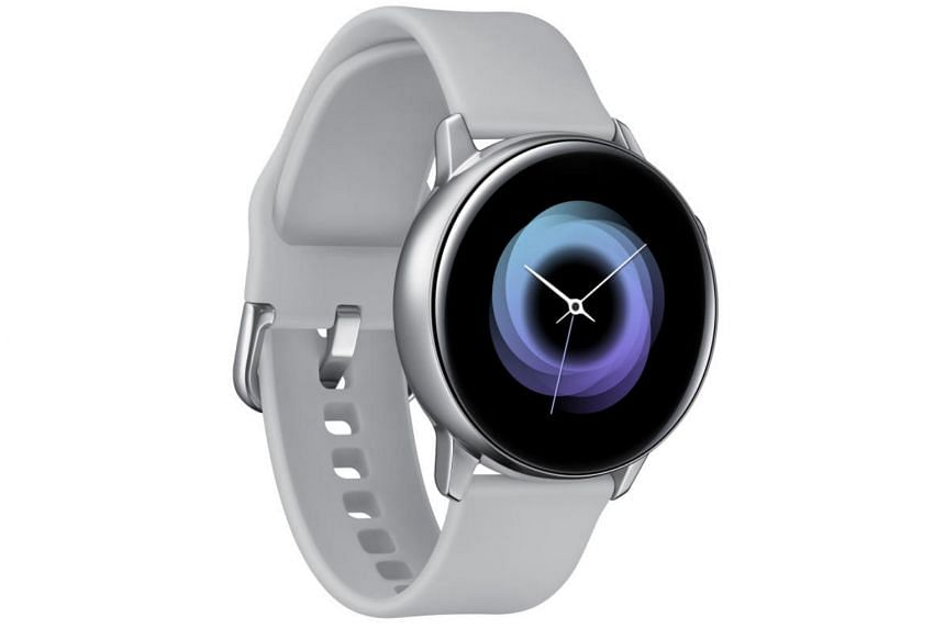 The Galaxy Watch Active is the smallest and lightest model of Samsung's Galaxy smartwatch series.