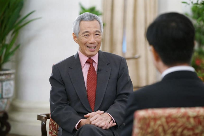 Prime Minister Lee Hsien Loong was speaking to Chinese state news agency Xinhua ahead of a visit to Beijing this week where he will attend the second Belt and Road summit, along with almost 40 other heads of state and government.