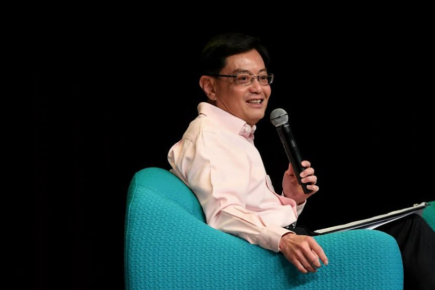 Finance Minister Heng Swee Keat will become Deputy Prime Minister from May 1, 2019.