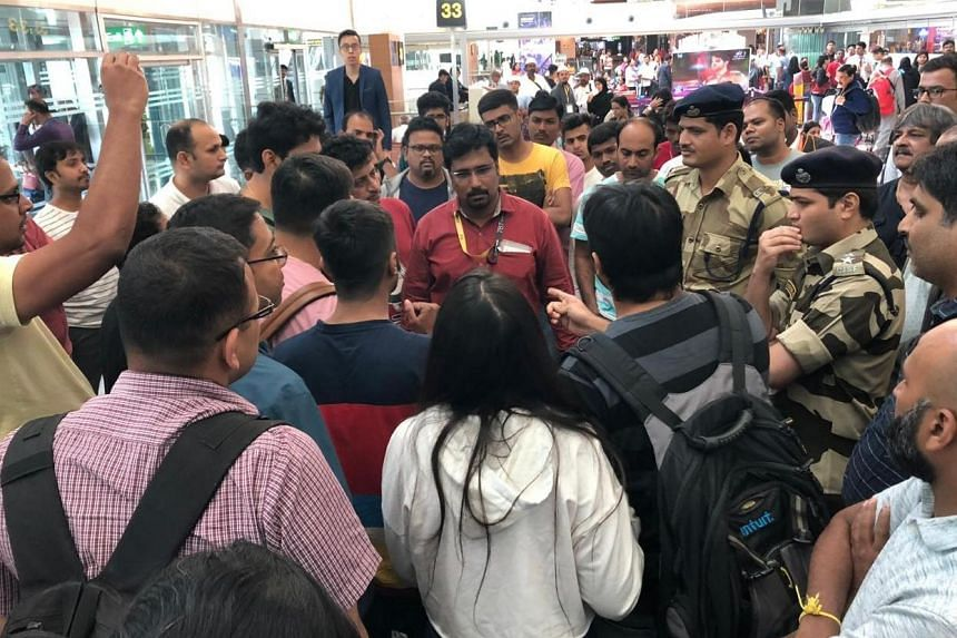 Passengers scheduled to depart Bengaluru on a Scoot flight at 1.20am local time on April 23 were caught in a delay because of a false security threat.