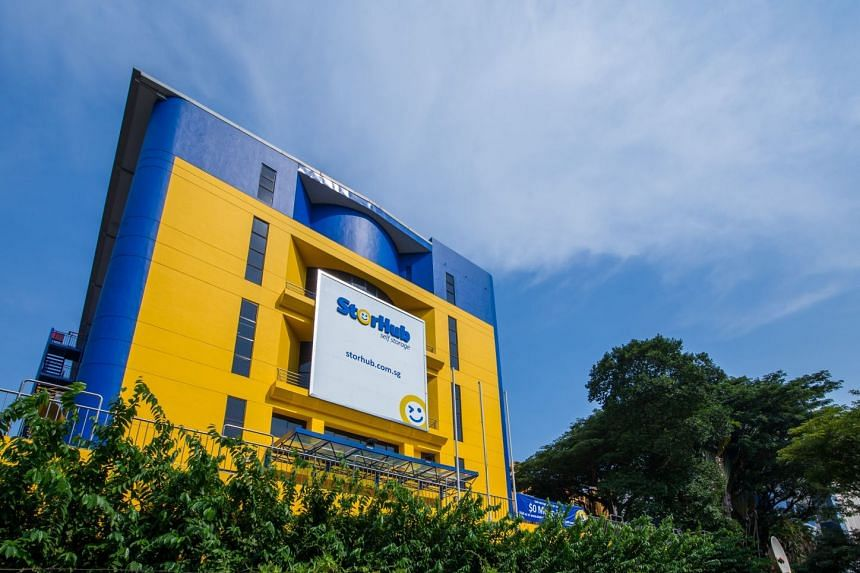 The StorHub self-storage facility at Hougang, part of StorHub's portfolio of 11 such facilities in Singapore and one in Shanghai.