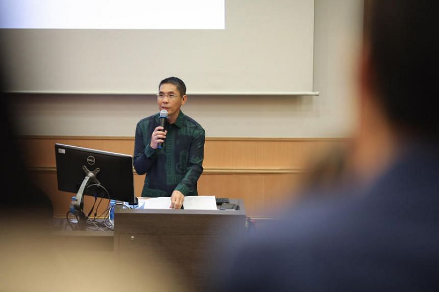 Senior Minister of State for Defence and Foreign Affairs Maliki Osma opened the two-day conference on ancient harbours at the National University of Singapore on April 23, 2019.