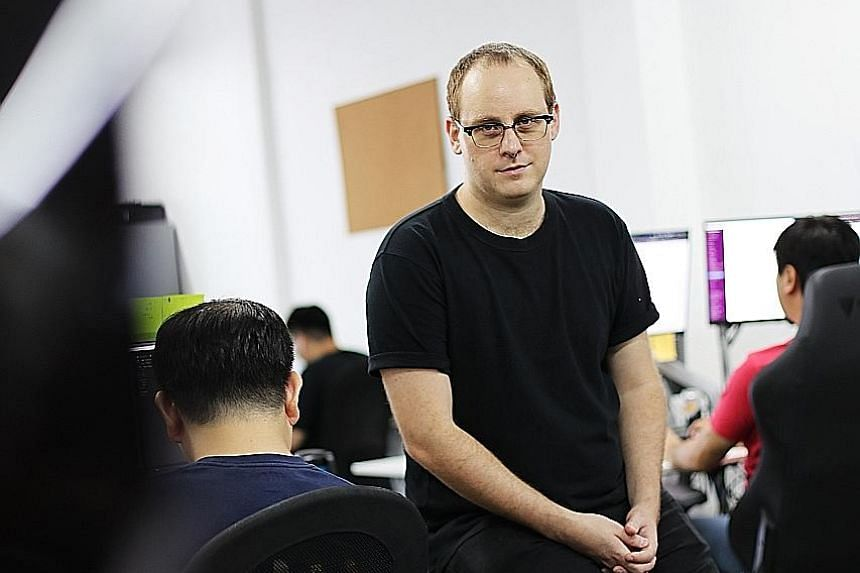 Mighty Bear's co-founder and chief executive officer Simon Davis used to work at the Singapore office of the United States-based studio behind hit mobile game Candy Crush.