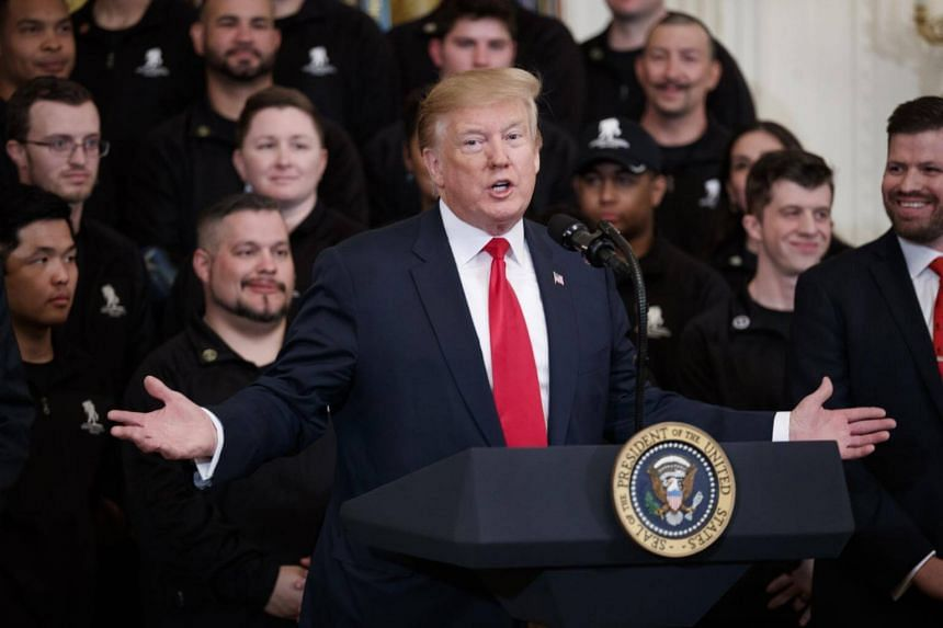 US President Donald Trump's comments came as the White House made it clear that it plans to broadly defy requests for information from Capitol Hill.