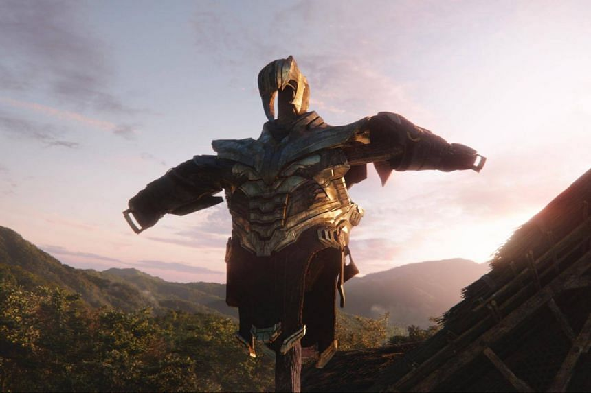 Thanos, teased in cameos and end-credit sequences starting from 2011's Thor, is about as ultimate a baddie as a comic-book character can get with his limitless control of space and time.