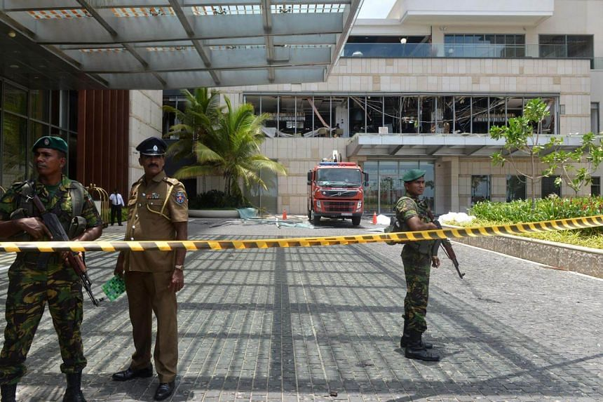 The Shangri-La was one of the buildings torn apart in Easter Sunday bombings. The hotel had been a monument to Sri Lanka's resurgence following a brutal three-decade civil war.