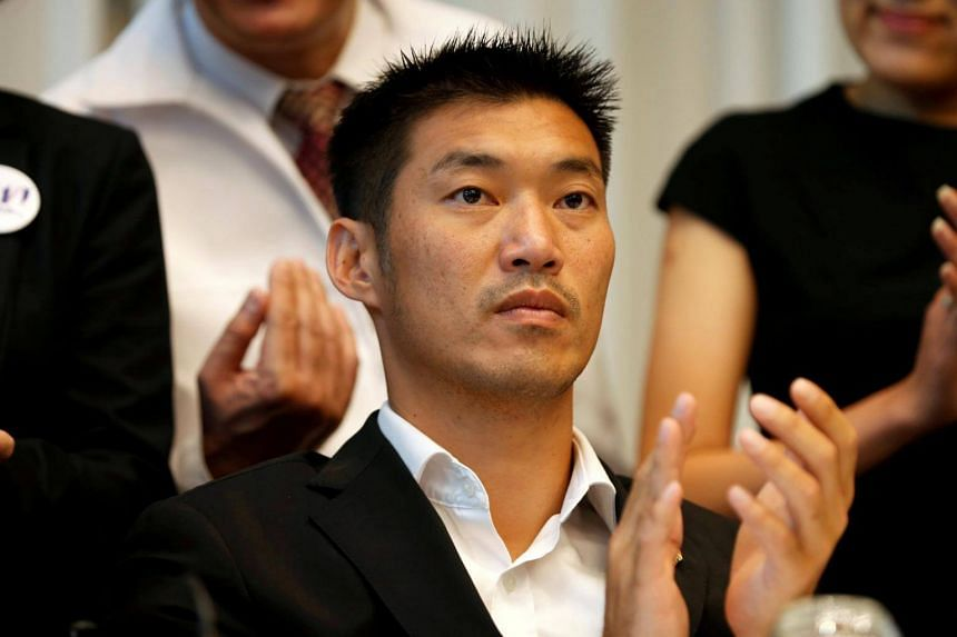 """Future Forward leader Thanathorn Juangroongruangkit said the charges against him was """"political sabotage""""."""