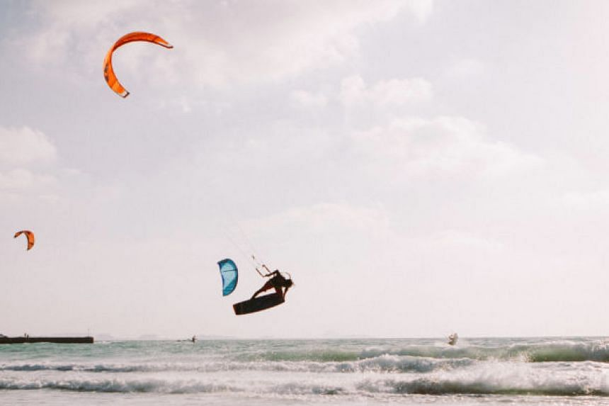 Head to Kite Beach for an adrenaline rush, and try your hand at activities such as kite surfing. PHOTO: TOURISM DUBAI