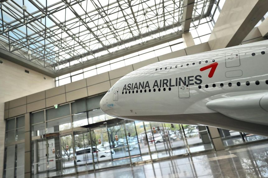 Last year, Asiana Airlines swung to a net loss of 10.4 billion won ($12.4 million) from a net profit of 248 billion won a year earlier.
