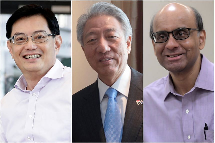 Cabinet Reshuffle Heng Swee Keat To Be Dpm Teo Chee Hean