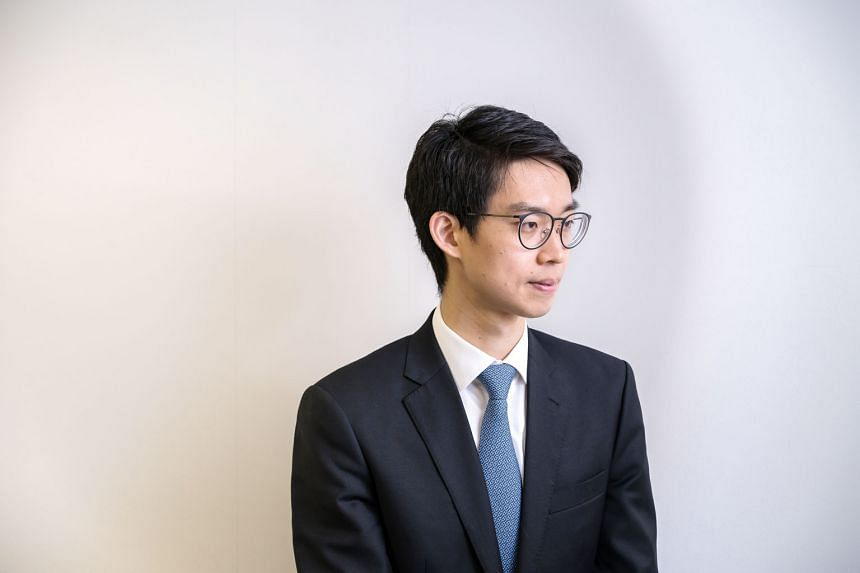 """Mr Alex Shih, 30, began running Centaline Group, which handles two out of every five property transactions in Hong Kong, when he was named vice-chairman at the start of the year. """"My friends who are working in finance are making more money than I do,"""