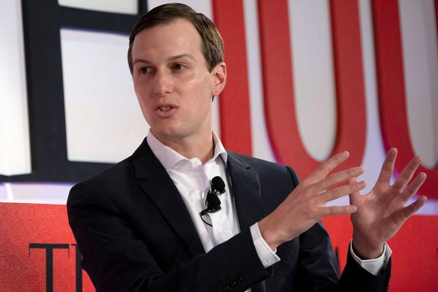 Kushner speaks during the Time 100 Summit event April 23, 2019 in New York.