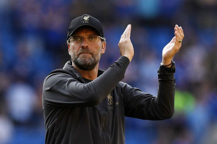 Klopp (above) said winning was not the be all and end all for his team, despite their long title drought.