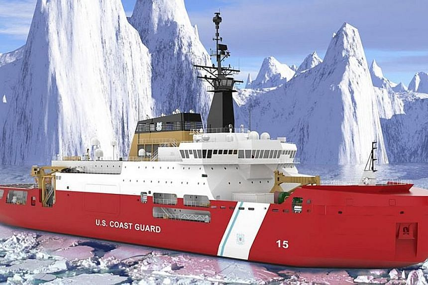 Mississippi-based VT Halter Marine, which is fully owned by ST Engineering, will design and construct at least one Polar Security Cutter for the US Navy, with the option to build three in total. PHOTO: ST ENGINEERING