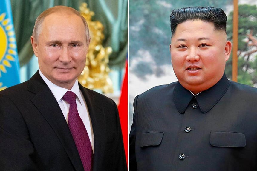 North Korean leader Kim Jong Un and Russian President Vladimir Putin are expected to discuss denuclearisation and other issues such as bilateral ties, economic cooperation and humanitarian aid in the Russian city of Vladivostok.
