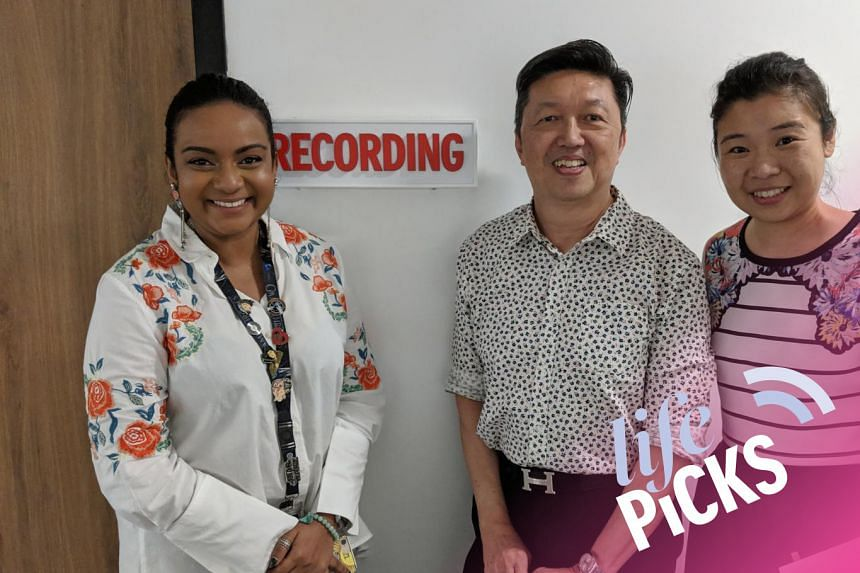 (From left) ST journalists Anjali Raguraman and Wong Ah Yoke share with Life Picks podcast host Melissa Sim the best lifestyle tips this week.