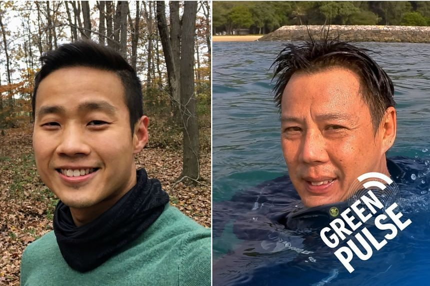 In our Green Pulse podcast, our guests Mr Marcus Chua of NUS' Lee Kong Chian Natural History Museum (left) and Mr Stephen Beng, chairman of the marine conservation group of the Nature Society (Singapore), discuss the scientific lessons learnt from wh