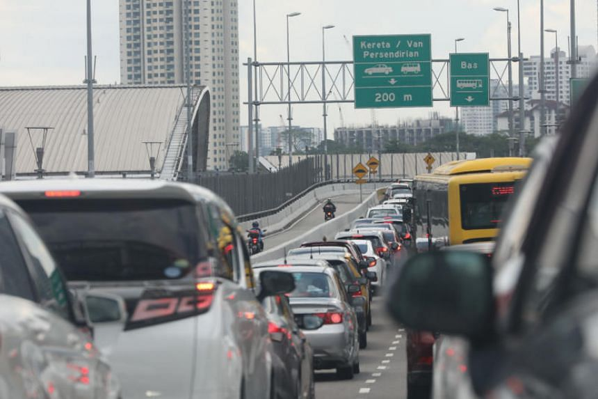 The long-debated vehicle entry permit scheme is expected to be carried out in three stages, beginning with the Causeway and Second Link.