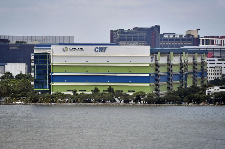CWT Commodity Hub was converted from a master lease to a multi-tenancy lease structure.