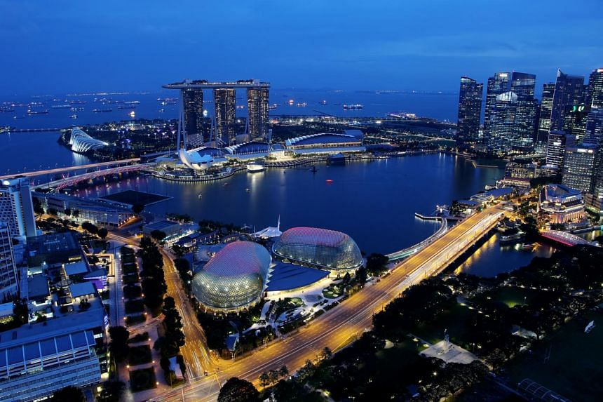 In 2016, Singapore was named the country with the worst level of light pollution in the world - with a pollution level of 100 per cent - in a Science Advances study.