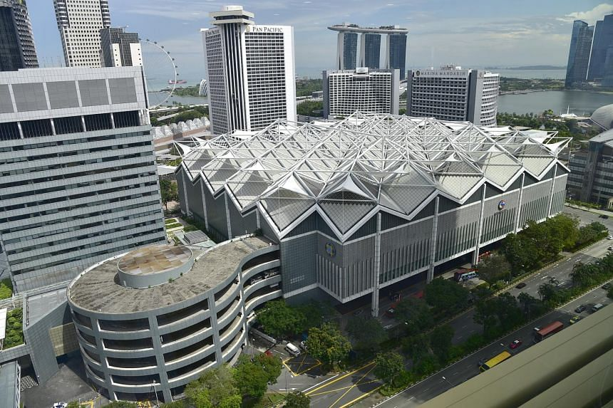 Suntec Reit on Wednesday morning posted a first-quarter distribution per unit (DPU) of 2.434 cents for the three months to March 31.