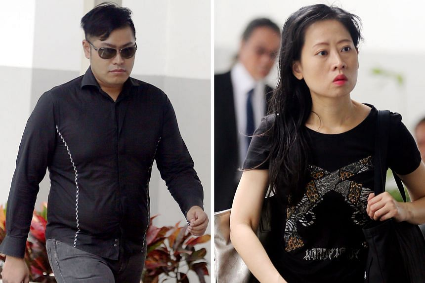 Kings International Business School managers Tang Yudong (left) and Pek Siew Gek did not comply with the then Council for Private Education's instructions in 2015 to refund 34 students and find them new schools.