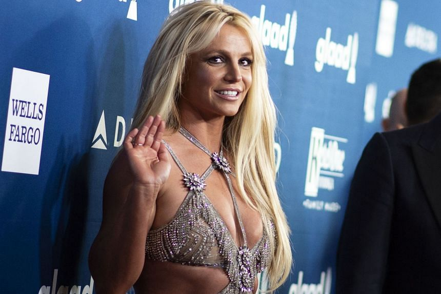 Britney Spears (above).