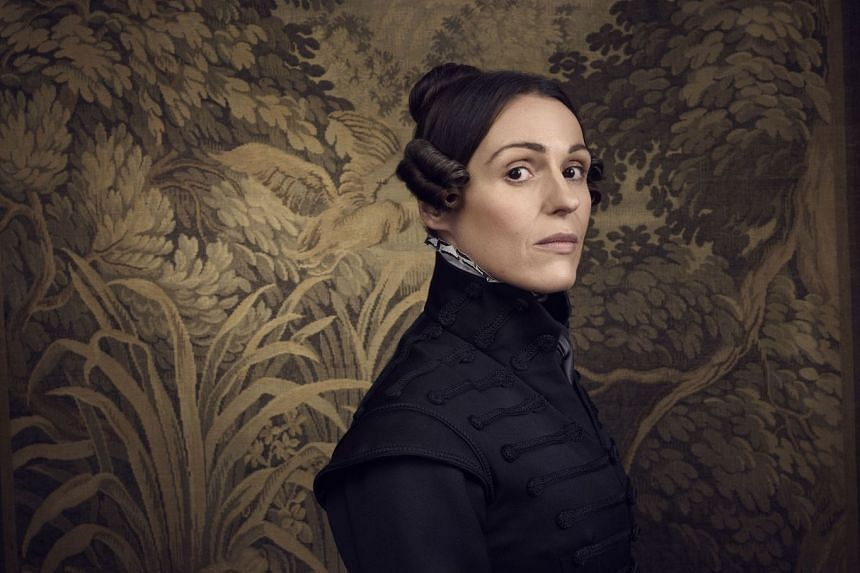 Suranne Jones (above) plays Anne Lister in Gentleman Jack, written and directed by Sally Wainwright.
