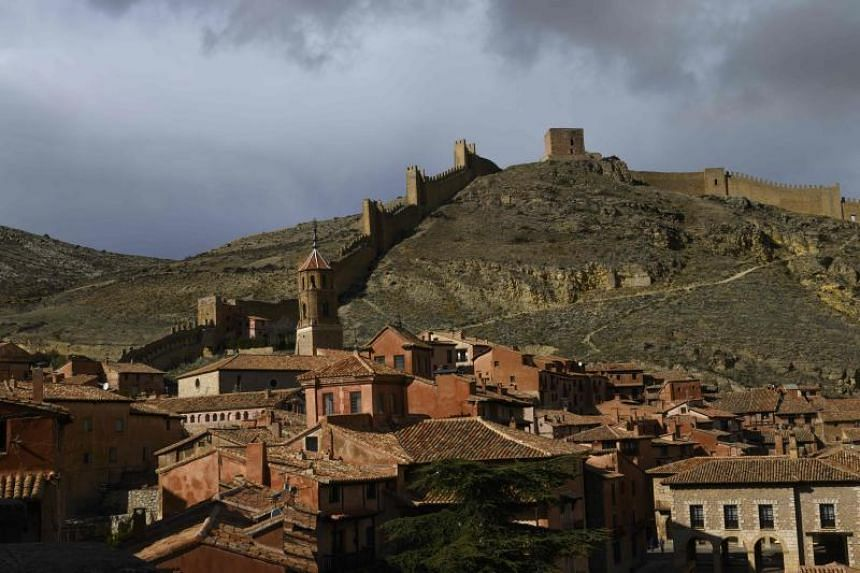 The town of Albarracin in the hills of east-central Spain. Ahead of an election on April 28, 2019, the depopulation of the Spanish interior and the problems it causes for rural voters has become a focus of attention.