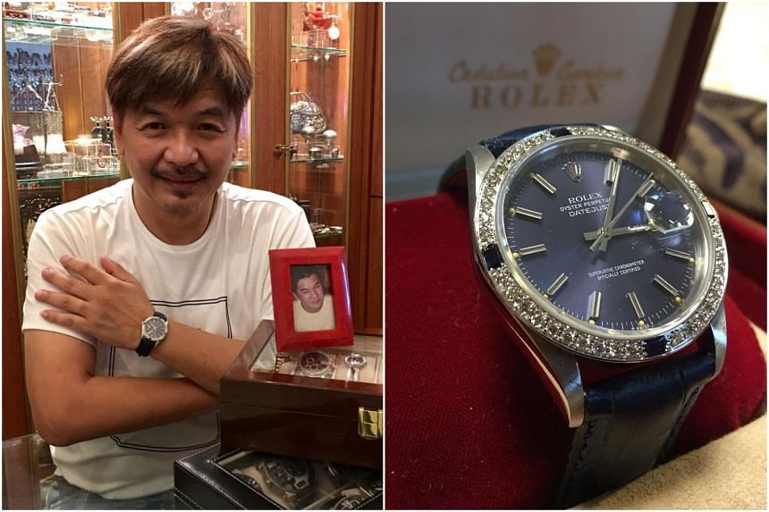Ben Cheong owns more than a dozen watches, but his Rolex Oyster Perpetual Datejust has great sentimental value.