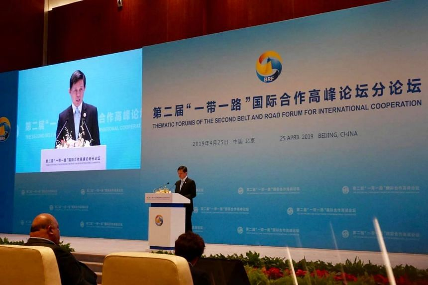 Speaking at two forum discussions in Beijing on April 25, Minister for Trade and Industry Chan Chun Sing called on nations to join hands on China's Belt and Road Initiative.