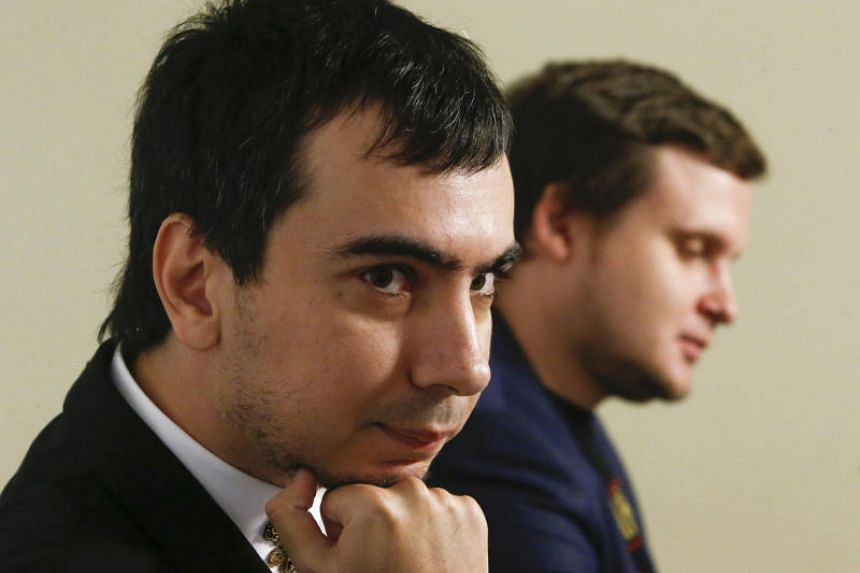 """Russian pranksters Vladimir """"Vovan"""" Kuznetsov (left) and Alexei """"Lexus"""" Stolyarov regularly carry out prank calls that dupe the rich and the powerful."""
