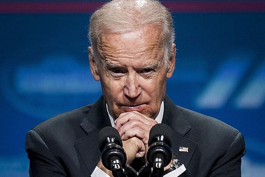 Mr Joe Biden has consistently led the Democratic primary polls, collecting between a quarter and a third of the vote, and is expected to receive robust support from donors in the Democratic camp and the business community. PHOTO: EPA-EFE