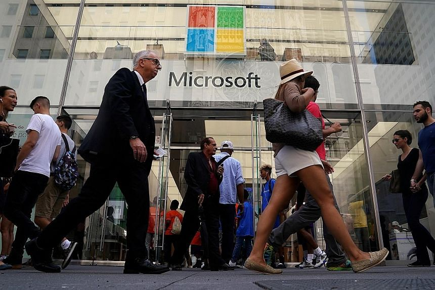 Under chief executive Satya Nadella, Microsoft has shifted from reliance on its Windows system to selling cloud-based services. The firm sometimes surpasses rivals like Amazon in market capitalisation, despite having less revenue, because most of its