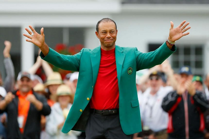 Tiger Woods (pictured) said he always thought Jack Nicklaus's mark was reachable, provided his career was long enough.