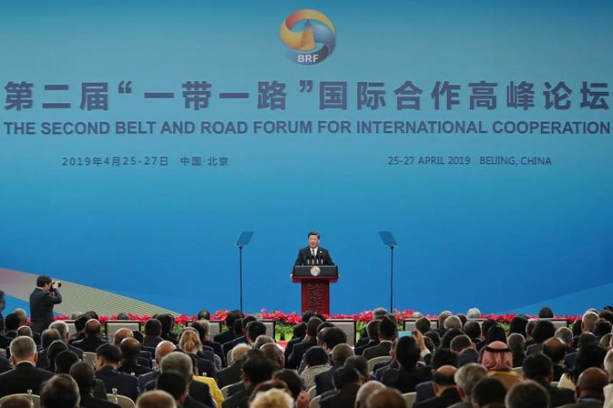 Chinese President Xi Jinping attempted to soothe fears over the Belt and Road project in a half-hour speech.
