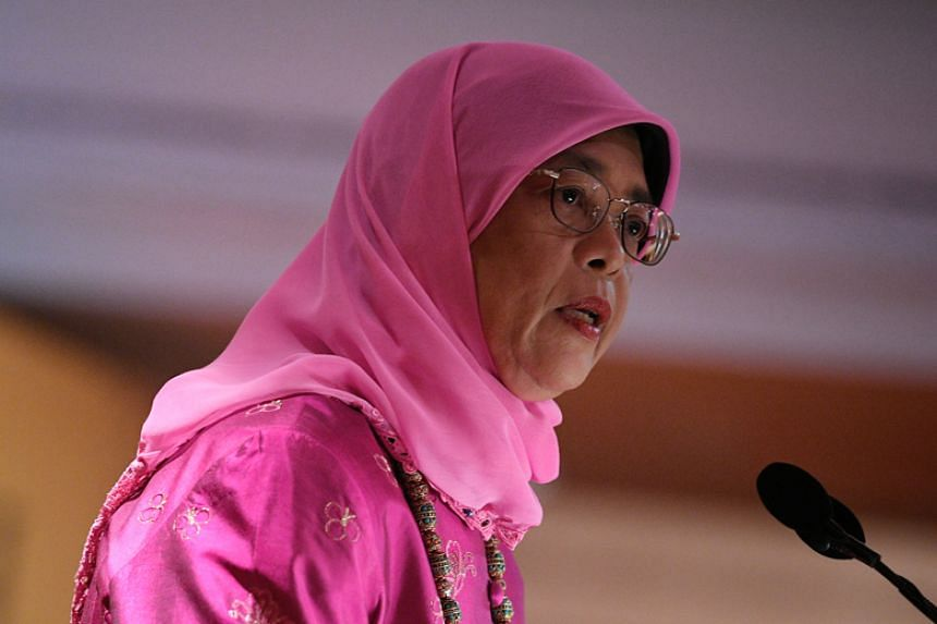 President Halimah Yacob also noted how the American Chamber of Commerce has been working with the Community Chest to promote volunteerism among its members.