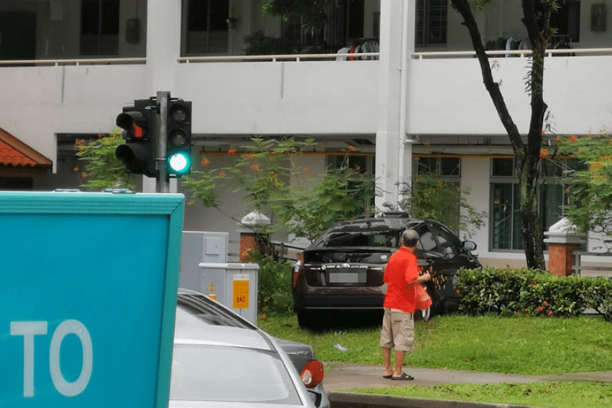 Police were alerted to the accident along Ang Mo Kio Avenue 10 at 12.31pm on April 26, 2019.
