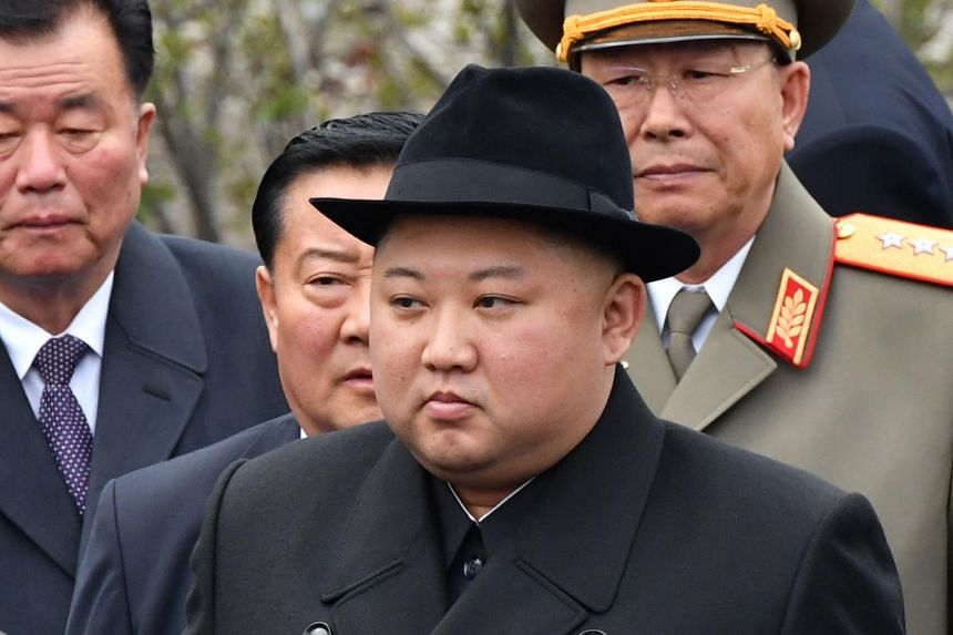 North Korean leader Kim Jong Un had been scheduled to take part in the ceremony at 10am, but turned up two hours late.