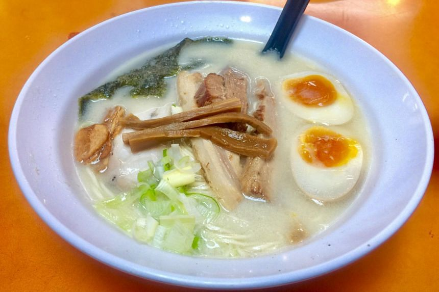 Ramen Taisho specialises in tonkotsu-based ramen - and the original version (from $6.80) comes in a rich and creamy pork broth.