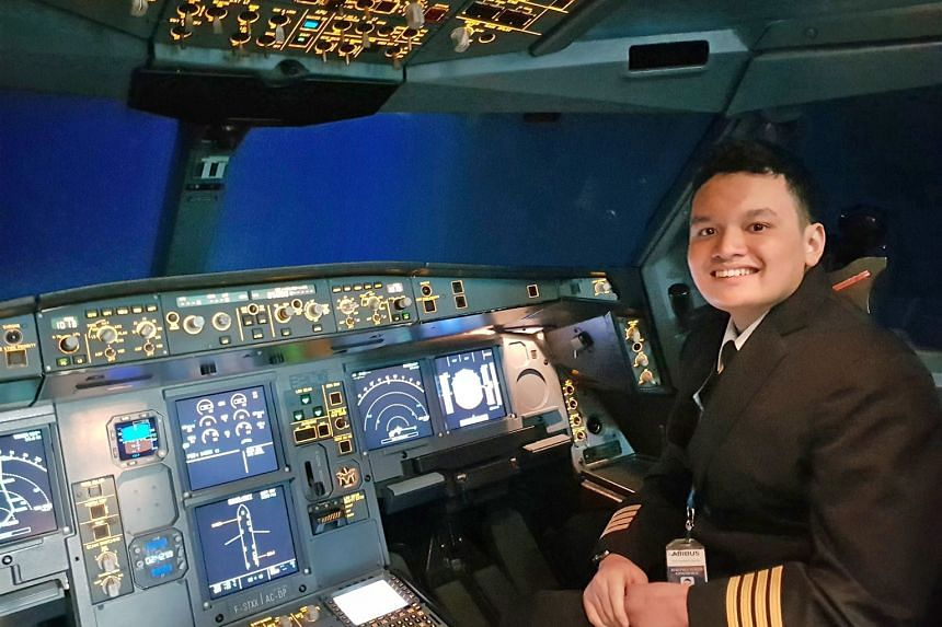 Lutfil Edy Widodo got to fly a flight simulator at the Airbus Asia Training Centre in Seletar Aerospace Park in February. He even got decked out in a pilot's uniform that Make-A-Wish Singapore had made specially for him, and also met some pilots, who