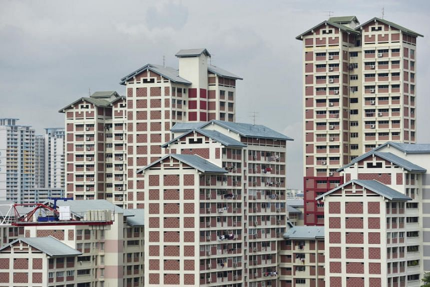 Resale prices of Housing Board flats fell by 0.3 per cent from the last quarter of 2018.