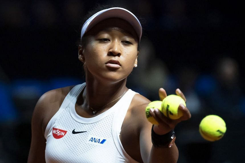 Osaka during her quarter final match against Donna Vekic of Croatia.