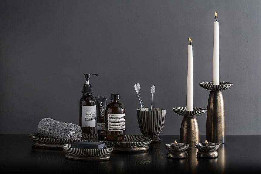 Royal Selangor's latest collections include musical carousels in the shape of Disney princesses and homeware (above).