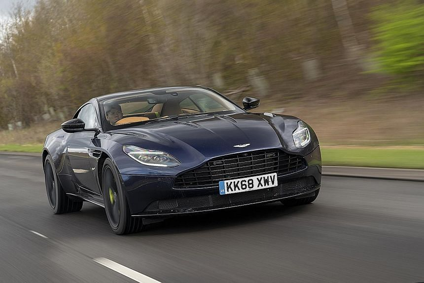 Aston Martin Db11 Amr Is Simply Irresistable Motoring News Top Stories The Straits Times