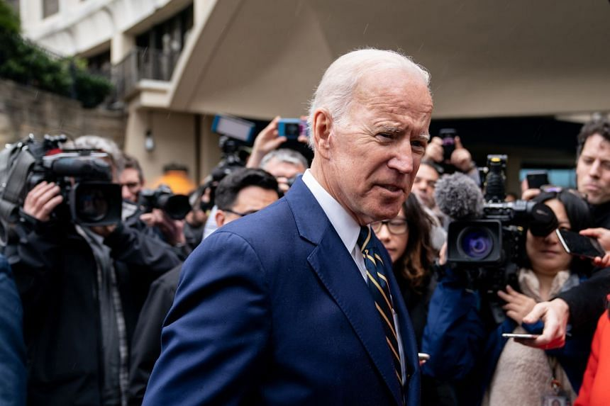 Over 60 per cent of total money raised for Biden (above) came from new donors.