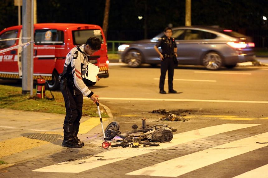 The accident occurred at about 8.30pm on April 26, 2019, at the junction of Ang Mo Kio Street 23 and Ang Mo Kio Avenue 3.