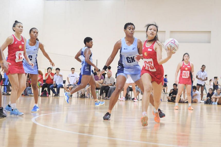 Singapore lost 70-48 to Fiji at the OCBC Arena on April 27, 2019.