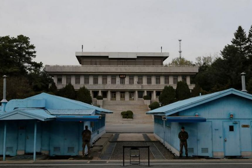 South Korean President Moon Jae-in and North Korean leader Kim Jong Un had met for a landmark summit in the truce village of Panmunjom on April 27, 2018.